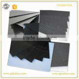 carbon fiber plate sheet 3k twill weave for rc helicopter quadcopter multicopter spare parts or bottom frame
