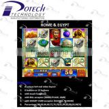 slot casino game board WMS NXT game board Rome & Egypt