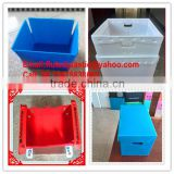 PP plastic coroplast box/container/tray/carton/shelf bin for storage packing and shipping