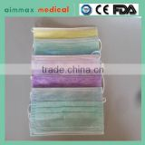Favorites Compare 1ply decoration face mask made of nonwoven fabric and material with tie on for medical and surgical use