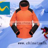 2014 hangzhou tymin sportex 100% polyester apparel ski clothing outdoor windproof hiking wholesale camping supplier