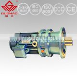 Hot sale GUOMAO durable flange mounted helical geared motor with good quality and high-tech