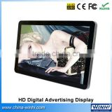 TFT wall mounted tv bus taxi vertical wall monitor lcd video digital advertising player 32 inch lcd panel