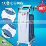 FCA /SPT/Fractional RF two handles vertical elight IPL SHR Fast Hair Removal beauty machine wholesale ipl hair removal