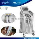 Vertical E-light hair removal system