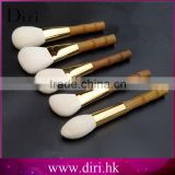 Beauty Needs Perfect Bamboo handle Cosmetic Brush Sets Cute Design 5 Pcs Makeup Brush Set
