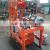 HF1-10 mobile clay block making machinery , mud brick making machine , earth block forming machine