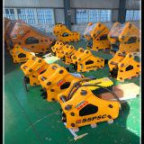 side type hydraulic breaker, hydraulic hammer for excavator