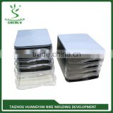 High quality Professional A4 filing cabinet plastic inject mould ,box mould from china