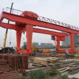 Double Girder rail mounted Gantry Crane used precast yard