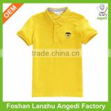 2017 Custom summer range children clothing Custom boys pique POLO shirt in solid colors children tops