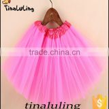 New Arrival Girls Pink Tutus Children's Fashion Skirts Baby Ballet tutus dance skirts