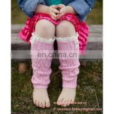 Wholesale Western Cute Young Girls New Lace Knitted Socks
