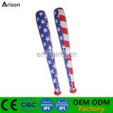 American flag printed inflatable baseball bat inflatable cheering stick for advertising toys