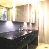 Prefab Black Granite Kitchen Countertop Stone White Marble Countertop Slab Quartz bullnose backsplash countertop