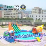 Aqua Inflatable Water Park , octopus Inflatable Water park, Inflatable Water Equipment For Summer Fun