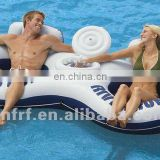 inflatable 2 person rings with cooler