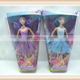 plastic magical girls doll toy, fairy doll toy
