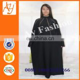 New Beautiful Muslim Wear Ladies Balck Abaya Maxi Dress Kaftan And Beaded Long Dress African