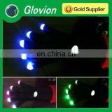 NEW led finger light gloves light reflective gloves black magic stretch gloves