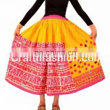INquiry about Indian Vintage Rabari Ghagra{Skirt}- Rabari embroidery banjara skirt- Multicolored Cotton Skirt with Vintage Kutchi skirts