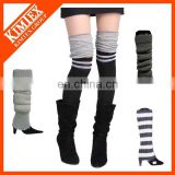Wholesale winter knit leg warmers for women