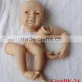 Full body silicone baby reborn doll kits reborn doll parts