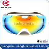 Universal wholesale prescription ski goggle custom brands reflective double lens snow paintball goggle for anti uv400