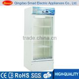 single/double/three glass door beverage display fridge commercial display cooler                                                                         Quality Choice