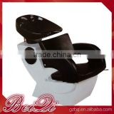 Beiqi Wholesale Price Cheap Backwash Units Black and White Shampoo Chair for Sale
