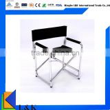 hot sale folding director chair, metal chair                                                                         Quality Choice