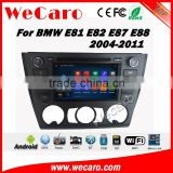 Wecaro WC-BM7205 android 4.4.4 touch screen car navigation system for bmw 1 series e81 e82 e87 e88 dvd gps radio multimedia
