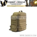Medical military backpack for emergency in first aid