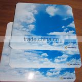 Airline anti-slip paper tray mat/liner(Inflight,hotel,catering serive equipment)