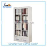 2 door metal classroom cabinet for storage