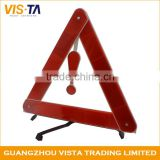 China best supplier custom reflective car vehicle warning triangle sign