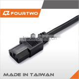 Made in Taiwan high quality low price nispt-2 power cord,power cord making machine,hp printer power cord
