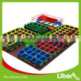 ASTM certificate professional indoor trampoline equipment for commercial trampoline park