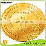 wholesale price custom fake gold coin