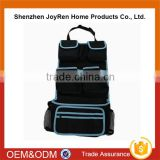 Hot-selling Car Accessory 600D Car Back Seat Qrganizer Storage Bag