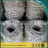 Barbed Wire Burglar/Barbed Wire Roll/Galvanized Decorative Barbed Wire Fencing(Factory)