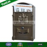 High Quality novelty mail box for letters with high quality cardboard box and indoor decorative mailbox