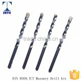 High quality DIN8039 TCT masonry drill bits, Sand Blast Drill Bit                                                                         Quality Choice
