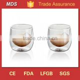 Unique hand crafted double wall whisky glass tumbler                                                                         Quality Choice