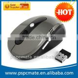 PS-M0078 Best selling Wireless Optical mouse mice with black gifts box for windows vista Mac Promotion!!!