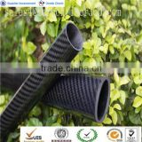 Twill Glossy Carbon Fiber Roll wrapped Tube , 3M 3K Carbon Pipe Tube