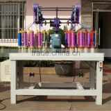 TS 130 series 12 spindle 2 head flag rope ,pet rope,hauling rope,safety rope making machine TSB130-12-2