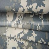 nylon taslan fabric camouflage printing bonded with knit fabric