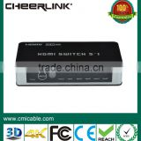 tending hot 3d hdmi switch with cable for hdtv ps3