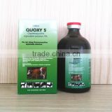 Long acting oxytetracycline injection for veterinary use